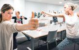 yoga på arbetsplatser