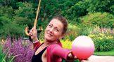 I chiball möts yoga, dans och kinesisk medicin