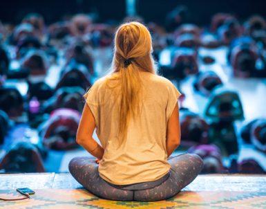 Premiär för Yoga of Hope