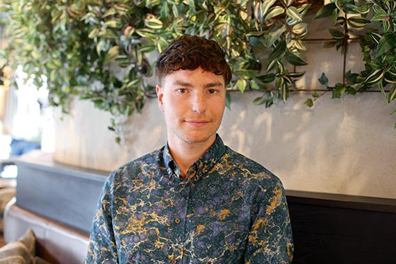 Jacob Lidström lever livet på landet.