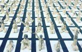365 yogafigurer på Liljevalchs vårsalong
