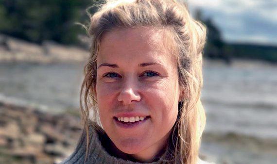 Med sicksacksöm som terapi: Åsa tog fram en egen yogakollektion
