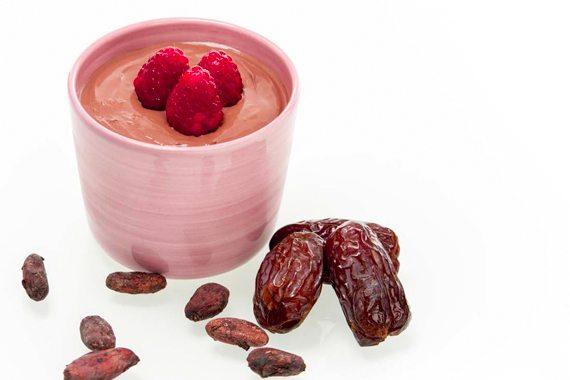 Rå choklad-mousse