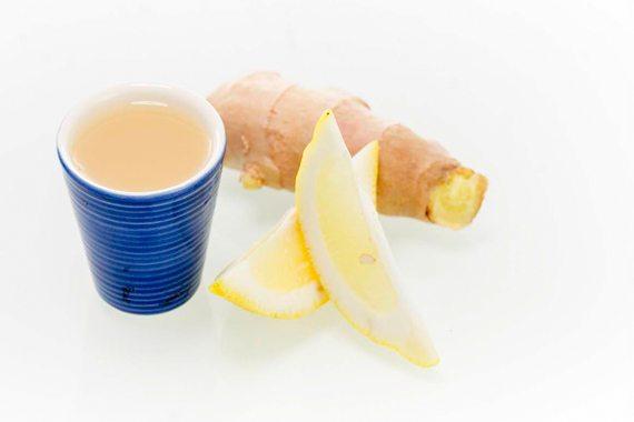 Ingefära- & citronshot