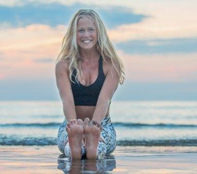Yogan hjälpte Josefine att hitta tillbaka till sig själv.