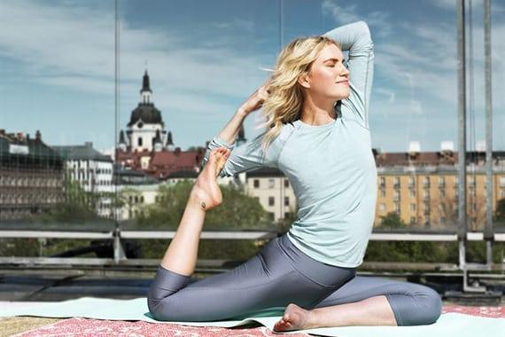 Gratis i huvudstaden: Yoga med utsikt över Söders höjder