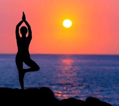 Ett hundratal länder deltar i Indiens firande av Yogans dag