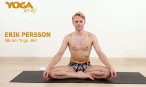 Videoklass: Lär dig bikramyoga av Erik Persson – som vann VM i asanas 2014