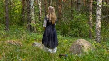 Skogsbad som terapi: Allt fler söker lugnet bland träden