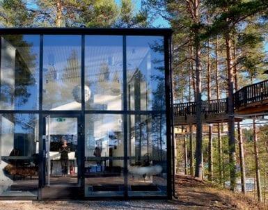 På retreat med pantrarna: En energiboost vid Umeälven