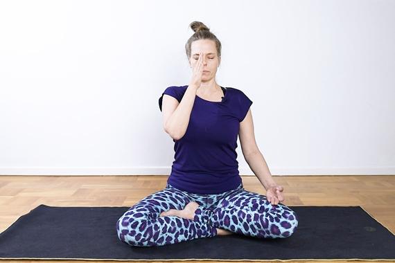 Balansera din dosha! Tia Jumbe, ayurvedisk hälsorådgivare och yoga- och meditationslärare, visar här en serie ayurvediska yogarörelser.