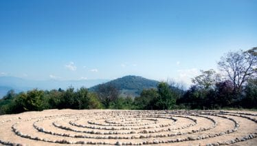 Solpyramiden i Visoko, Bosnien.