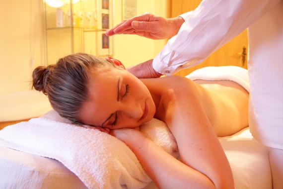 Massage kan öka blodcirkulationen.
