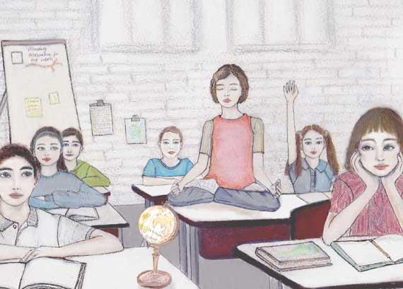 yoga i skolan