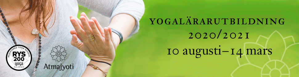 Atmajyoti, yogalärarutbildning
