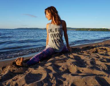 Kristina Lasan till Yogagalan