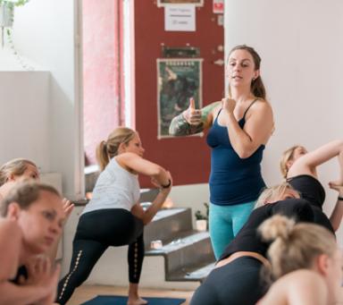 Veronica Jäderlund, Yogagalan