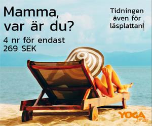 prenumerera på yogatidning