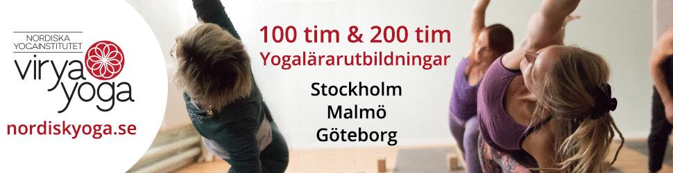 yogalärarutbildning Nordisk yoga
