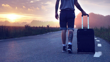 yogafordig om en resa som fortsätter