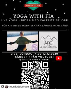 yoga för musikhjälpen
