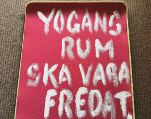 yogans rum ska vara fredat